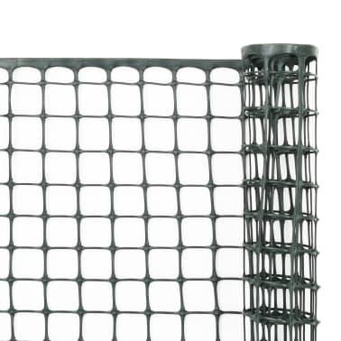 vidaXL Mailles de clôture de jardin 5 pcs PEHD 1x1,2 m Vert[2/6]
