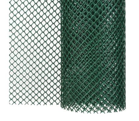 Recinzione Reti Per Giardino.Vidaxl Rete Per Recinzione Da Giardino In Hdpe 10x2 M Verde