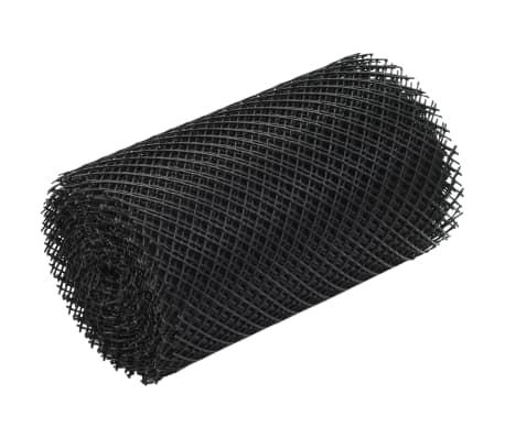 vidaXL Malla para canalones con clips 4 unidades HDPE 1,08 ㎡[5/7]