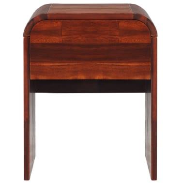 vidaXL Lovos rėmas su 2 nakt. stal., akacijos mediena, 140x200cm[12/17]