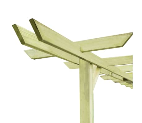 vidaXL Tuinpergola 360x200x60 cm FSC geïmpregneerd grenenhout[4/5]