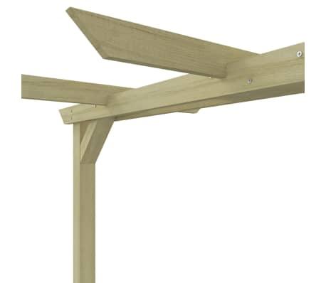 vidaXL Vrtna pergola od impregnirane borovine FSC 360 x 200 x 60 cm[5/5]