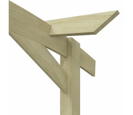 vidaXL Tuinpergola 180x210x40 cm FSC geïmpregneerd grenenhout[5/6]