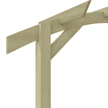 vidaXL Tuinpergola 180x210x40 cm FSC geïmpregneerd grenenhout[4/6]