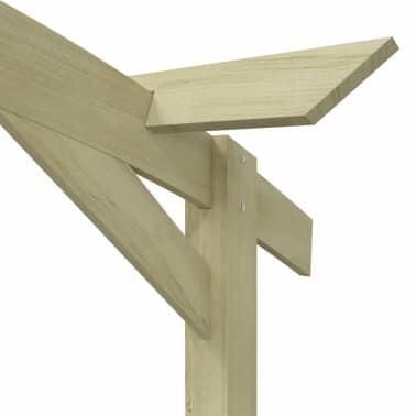 vidaXL Pergola de jardin 180x210x40 cm Bois de pin imprégné FSC[5/5]