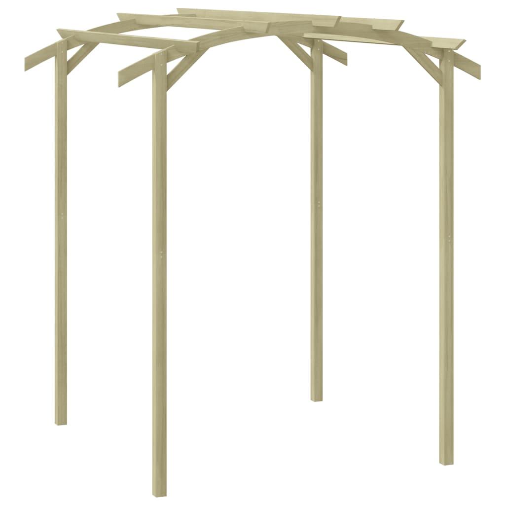 vidaXL Pergolă de grădină, 180 x 197 x 210 cm, lemn de pin tratat vidaxl.ro