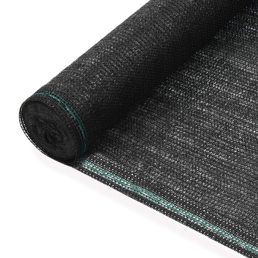 Tenisová zástěna černá 1 x 50 m HDPE