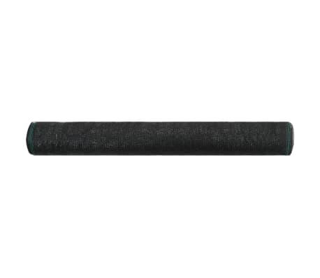 vidaXL Δίχτυ Αντιανεμικό για Γήπεδα Τένις Μαύρο 1 x 50 μ. από HDPE[2/4]
