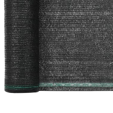 vidaXL Uždanga teniso kortams, juoda, 1x100m, HDPE[3/4]