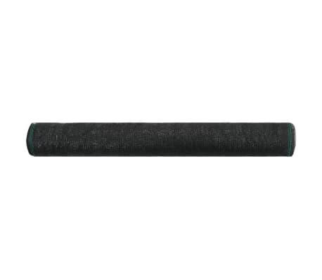 vidaXL Uždanga teniso kortams, juoda, 1,2x50m, HDPE[2/4]