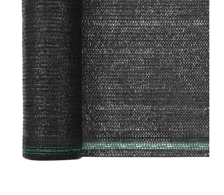 vidaXL Plasă teren de tenis, negru, 1,2 x 100 m, HDPE[3/4]