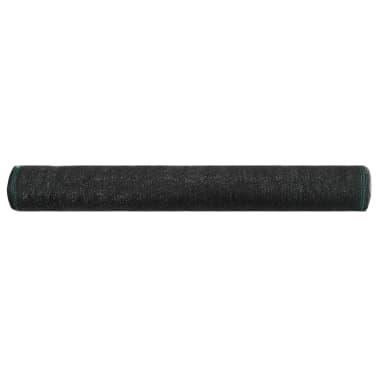 vidaXL Uždanga teniso kortams, juoda, 1,4x100m, HDPE[2/4]