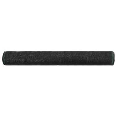 vidaXL Uždanga teniso kortams, juoda, 1,8x50m, HDPE[2/4]