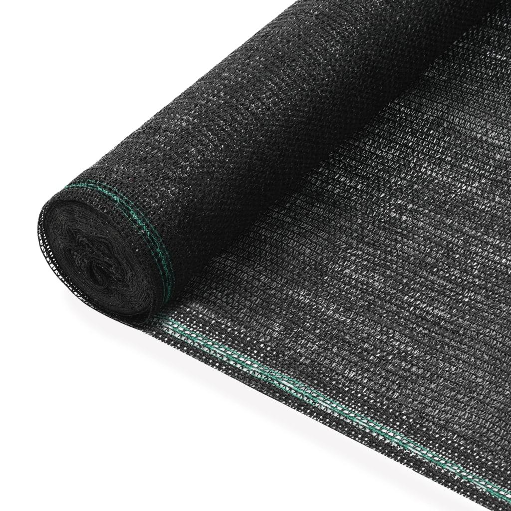 Tenisová zástěna černá 1,8 x 100 m HDPE