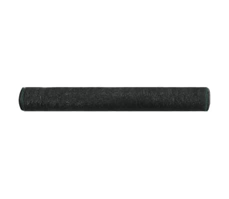 vidaXL Uždanga teniso kortams, juoda, 2x50m, HDPE[2/4]