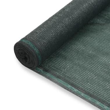 vidaXL Teniška zaščitna mreža HDPE 1x50 m zelena[1/4]