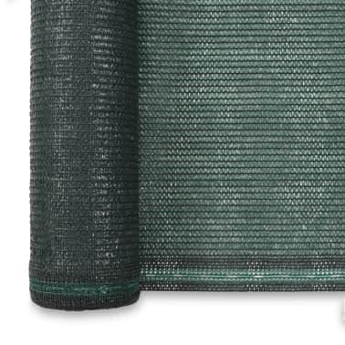 vidaXL Teniška zaščitna mreža HDPE 1x50 m zelena[3/4]