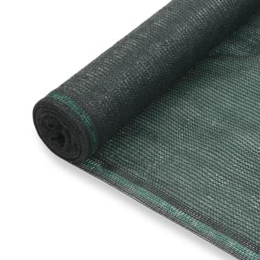 vidaXL Teniška zaščitna mreža HDPE 1,2x25 m zelena[1/4]