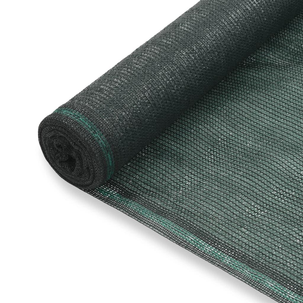 Tenniseväljaku võrk, HDPE, 1,2 x 50 m, roheline