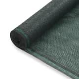 vidaXL tenniseväljaku võrk, HDPE, 1,2 x 50 m, roheline