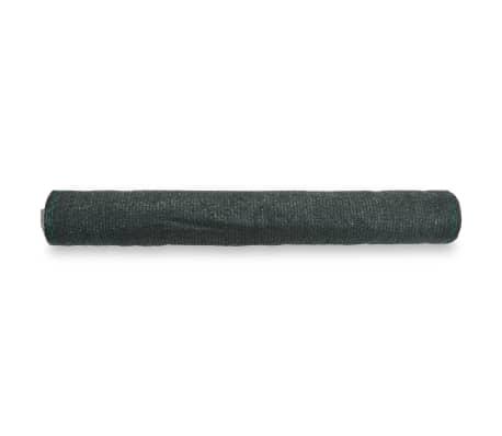 vidaXL Teniška zaščitna mreža HDPE 1,4x25 m zelena[2/4]