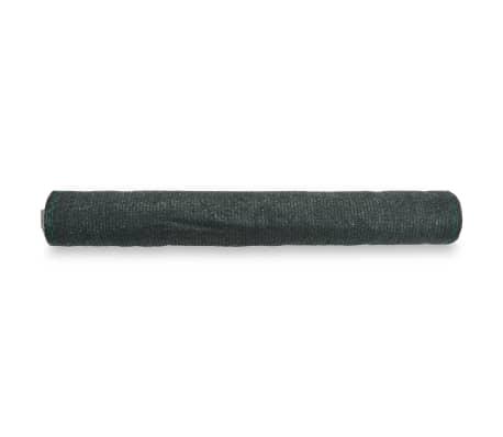 vidaXL Teniška zaščitna mreža HDPE 1,8x50 m zelena[2/4]