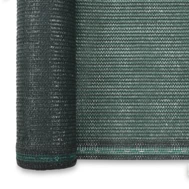 vidaXL Teniška zaščitna mreža HDPE 1,8x50 m zelena[3/4]
