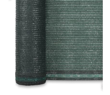 vidaXL Uždanga teniso kortams, žalia, 2x25m, HDPE[3/4]