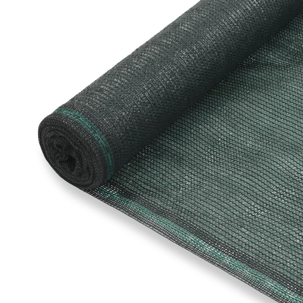 Tenniseväljaku võrk, HDPE, 2 x 50 m, roheline