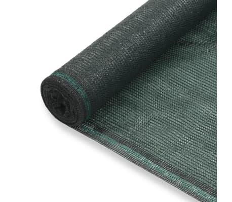 vidaXL Teniška zaščitna mreža HDPE 2x100 m zelena[1/4]