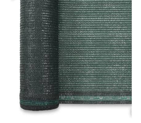 vidaXL Teniška zaščitna mreža HDPE 2x100 m zelena[3/4]
