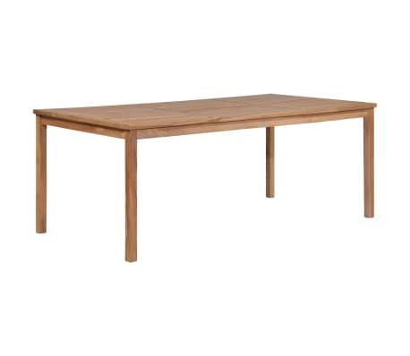 Vidaxl Outdoor Dining Table 200x100x77