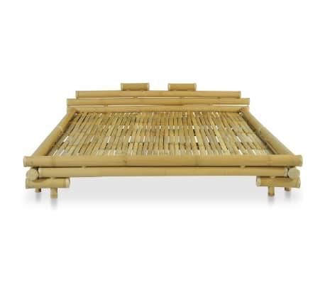vidaXL Cadre de lit Bambou 180 x 200 cm[3/8]
