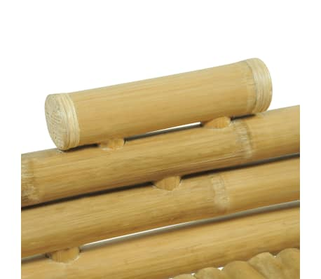 vidaXL Cadre de lit Bambou 180 x 200 cm[5/8]