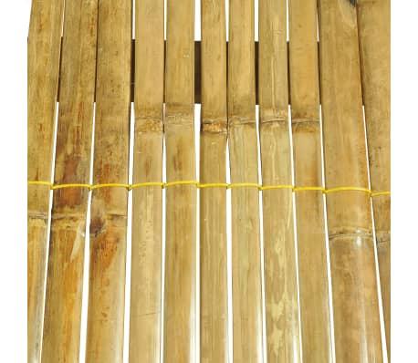 vidaXL Cadre de lit Bambou 180 x 200 cm[7/8]