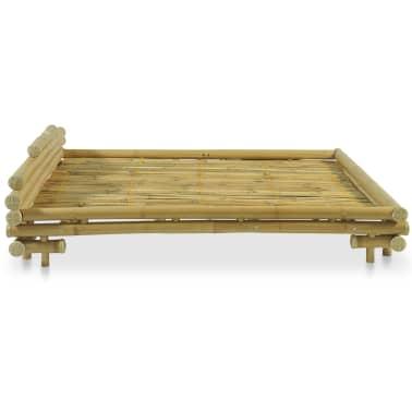 vidaXL Cadre de lit Bambou 180 x 200 cm[4/8]