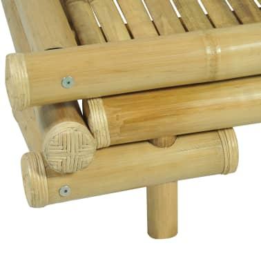vidaXL Cadre de lit Bambou 180 x 200 cm[6/8]