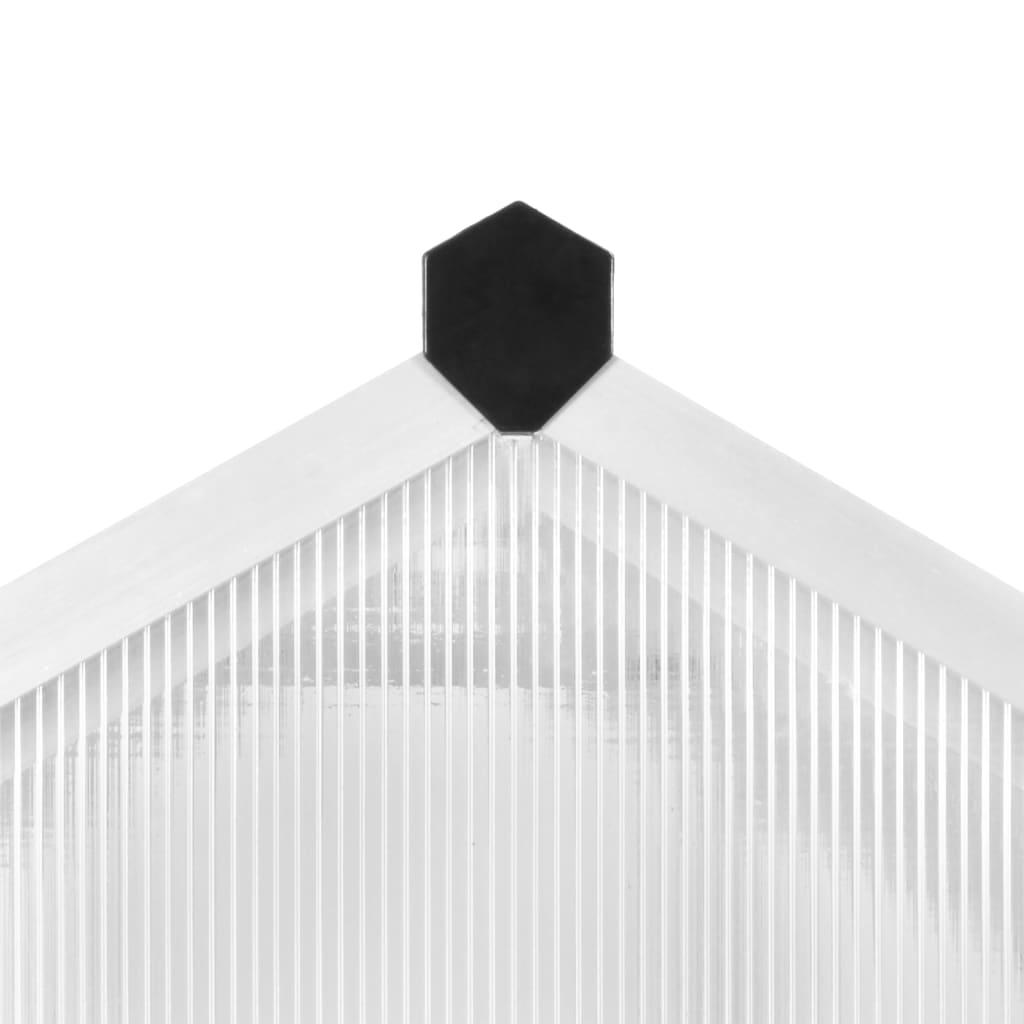 Kasvuhoone, alumiinium, 302 x 190 x 195 cm, 11,19 m³