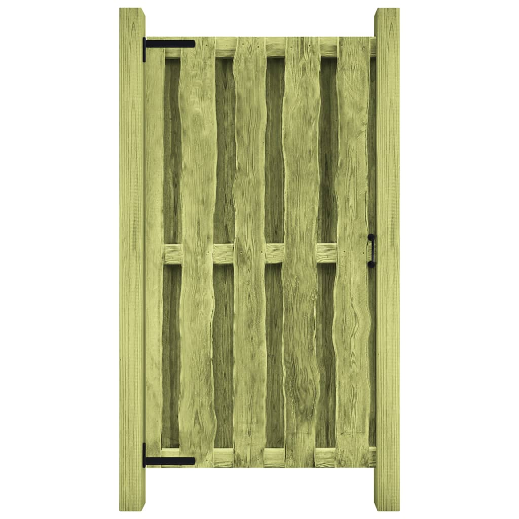 Zahradní branka impregnovaná borovice 100 x 150 cm zelená