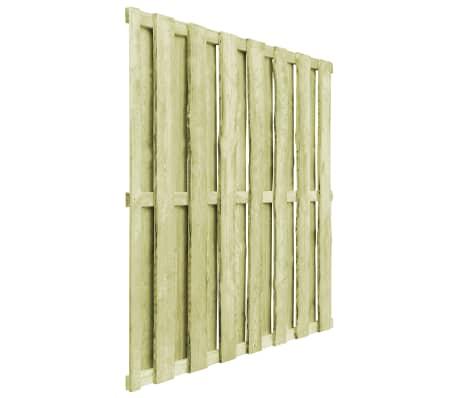vidaXL Schuttingpaneel 180x180 cm FSC grenenhout groen[2/4]