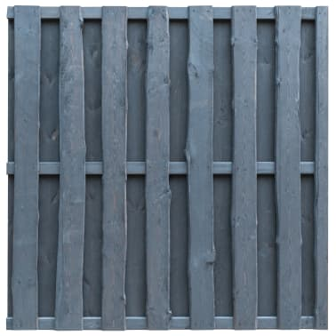 vidaXL Panneau de clôture Pinède FSC 180x180 cm Gris[1/4]