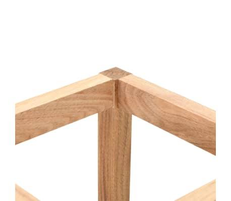 vidaXL Stojalo za dežnike iz trdne orehovine 18x18x50 cm[3/5]