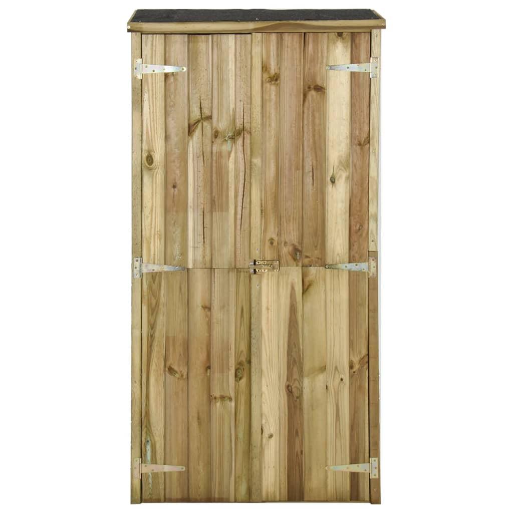 vidaXL Tuinschuur 85x48x177 cm FSC grenenhout