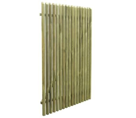 vidaXL Portail de jardin en piquets Bois de pin imprégné FSC 100x150cm[4/5]