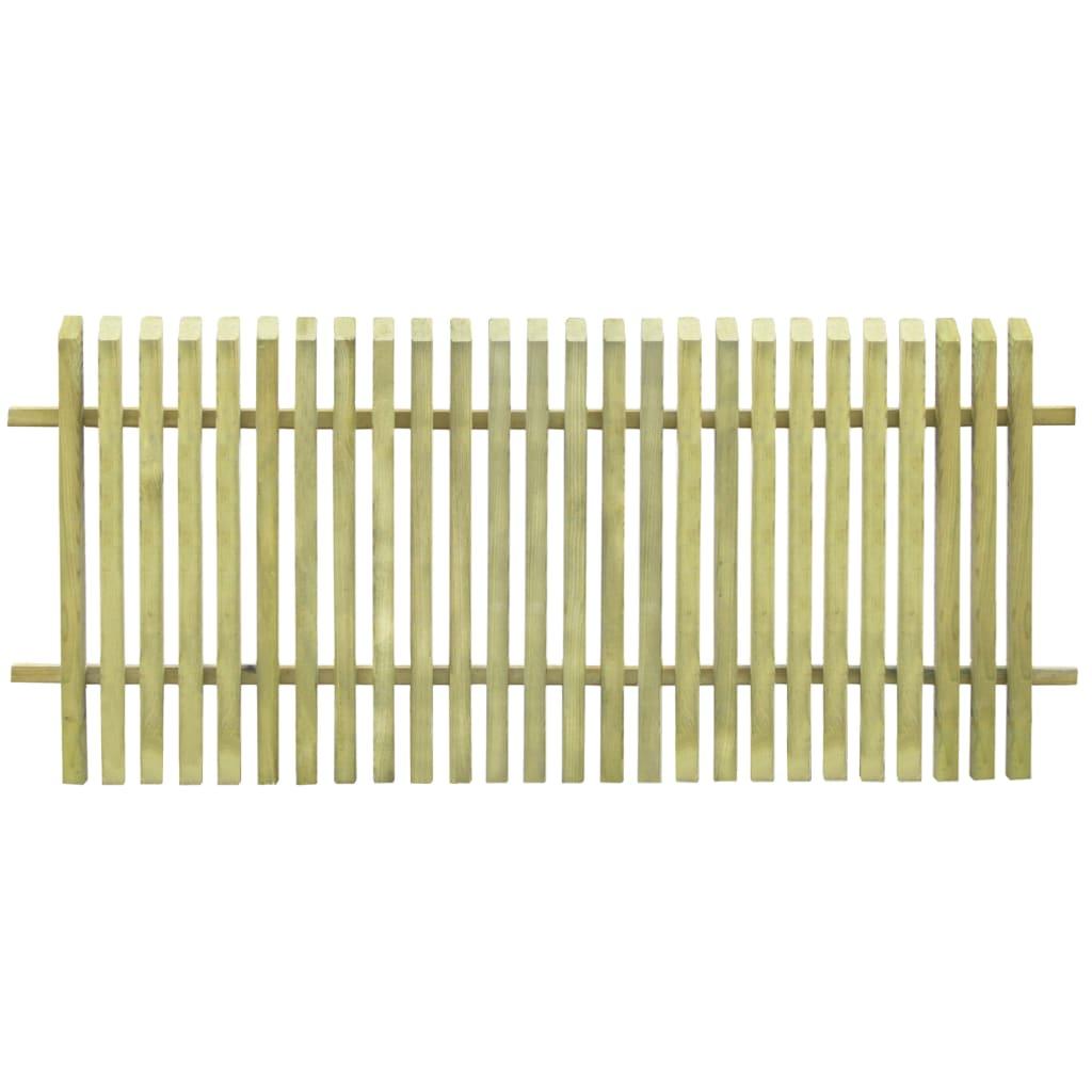 Zahradní plot impregnovaná borovice 170 x 75 cm