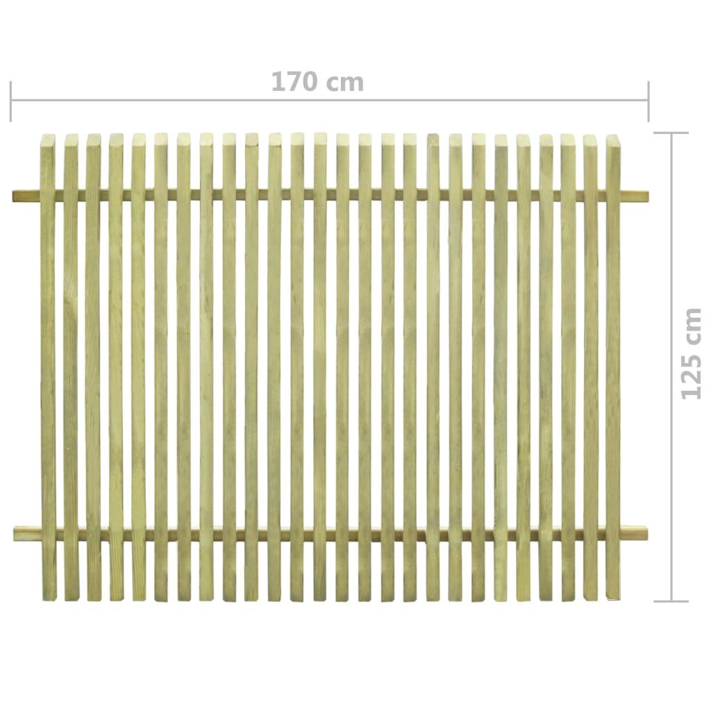 Tuinhek 170x125 cm geïmpregneerd grenenhout