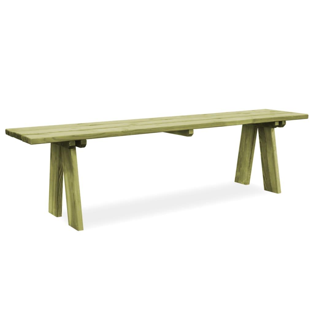 vidaXL Zahradní lavice 170 cm FSC impregnované borové dřevo
