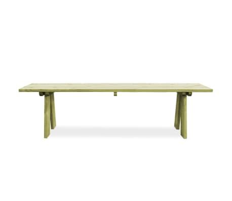 vidaXL Záhradná lavička 170 cm, impregnovaná borovica[2/6]