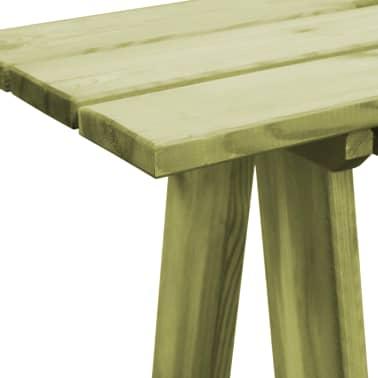 vidaXL Záhradná lavička 170 cm, impregnovaná borovica[4/6]