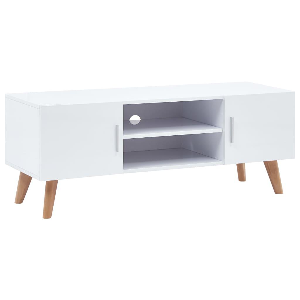 Afbeelding van vidaXL Tv-meubel 120x40x46 cm MDF wit
